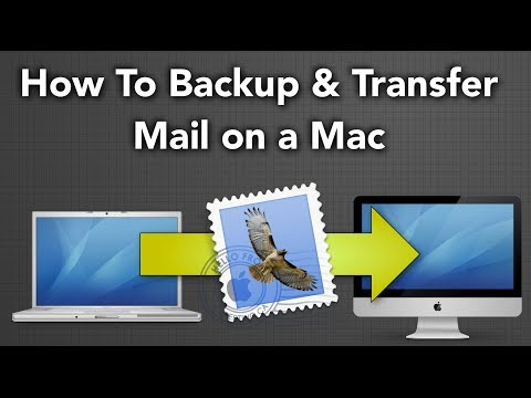 How To Backup and Transfer Mail on a Mac