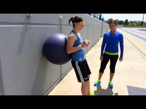 2013 - Windsor W. Hockey - Single Leg Squat w Stability Ball