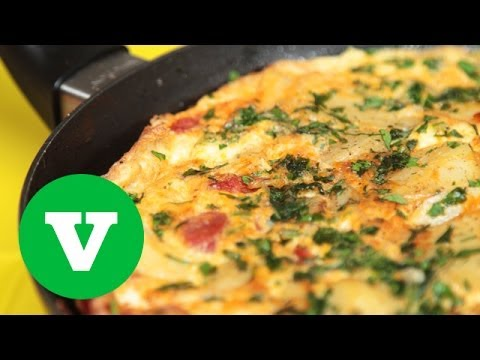 Spanish Chorizo Omelette | Good Food Good Times World Cup 2014 Special