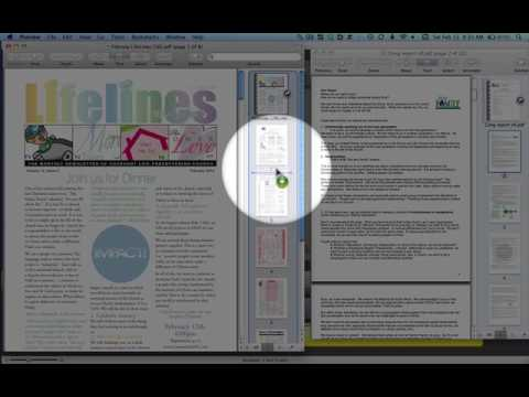 Merging two PDF files in Mac's