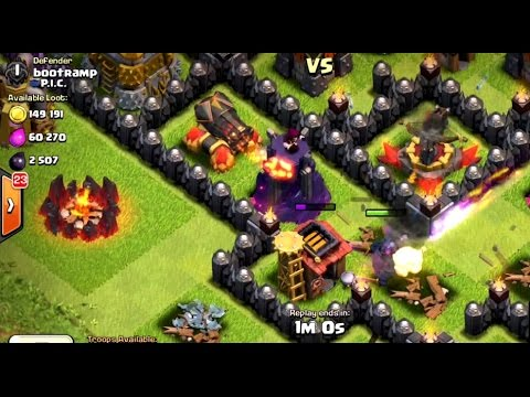 NEW MAX CANNON LEVEL 13 IN ACTION | Clash Of Clans | PEKKA GOING DOWN