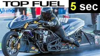 FULL SESSION OF TOP FUEL NITRO MOTORCYCLE IN ENGLAND, TURBO, NITROUS DRAG BIKES CHALLENGE NITRO GANG