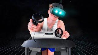 Running a Marathon while in VR!