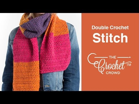 How to Double Crochet