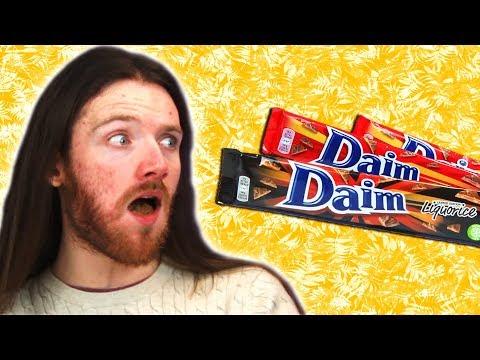 Irish People Taste Test Daim Candy