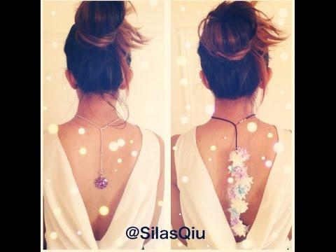 D.I.Y Back Necklace