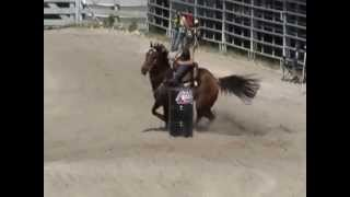 Hes Assure Thing - winning the Fast and Furious barrel race 5/25/13