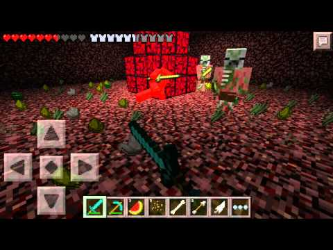 Minecraft - Pocket Edition 0.9.5 Gameplay on android