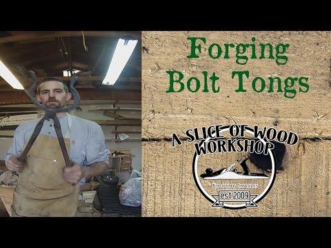 Forging Rebar Bolt Tongs