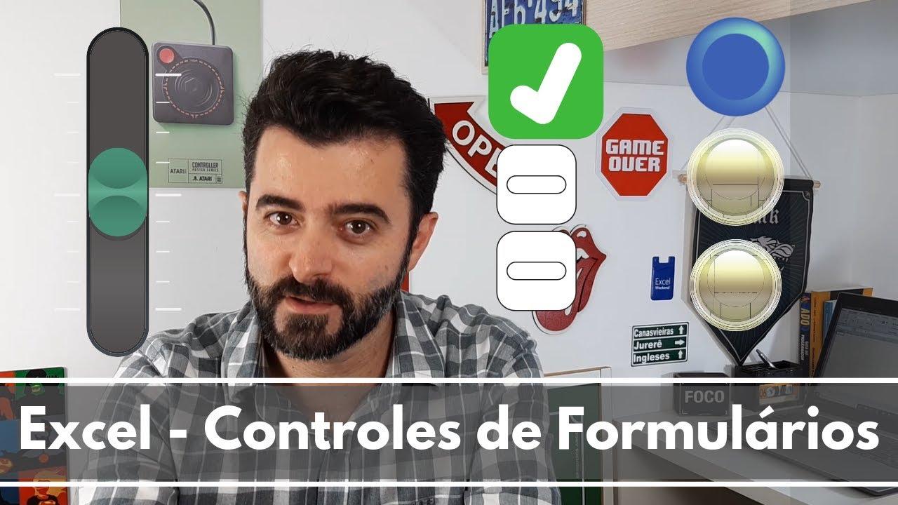 Excel - Controles de Formulários (Botões)