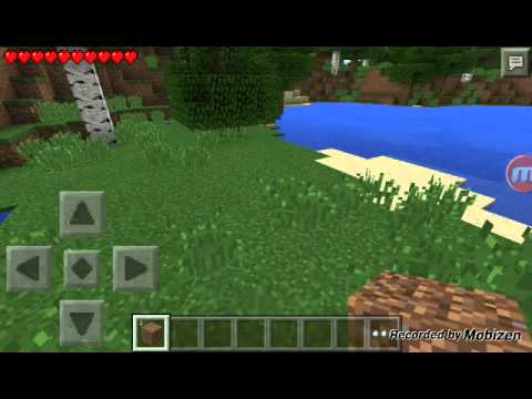 Minecraft pe 100000 diamonds glitch (cheat)