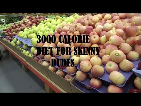 3000+ Calorie Diet For Skinny Guys (With No Protein Shake)