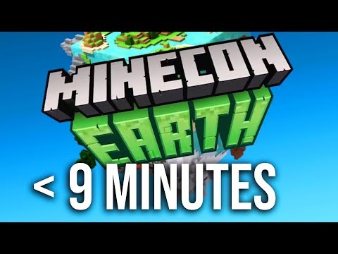 Minecon Earth 2018 in Under 9 Minutes