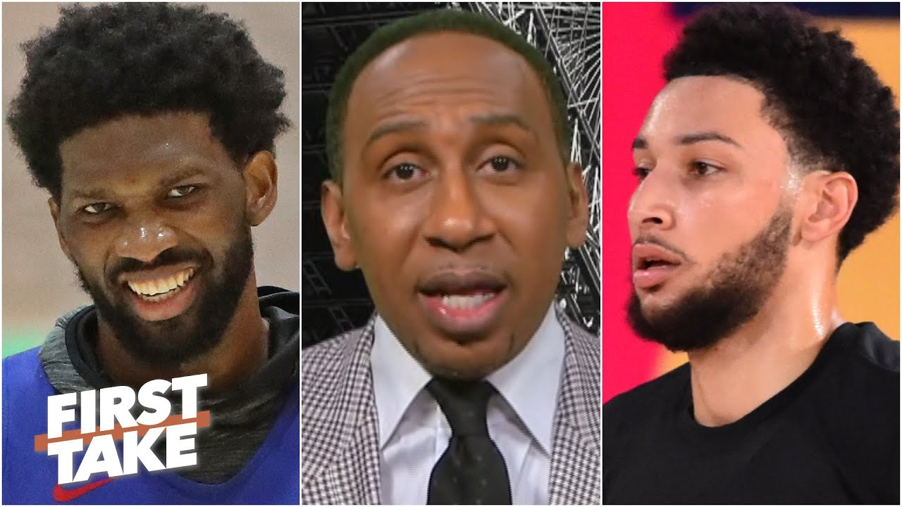Stephen A.'s thoughts on Ben Simmons, Joel Embiid & the 76ers adding Seth Curry | First Take