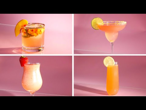 Rosé Cocktails 4 Ways
