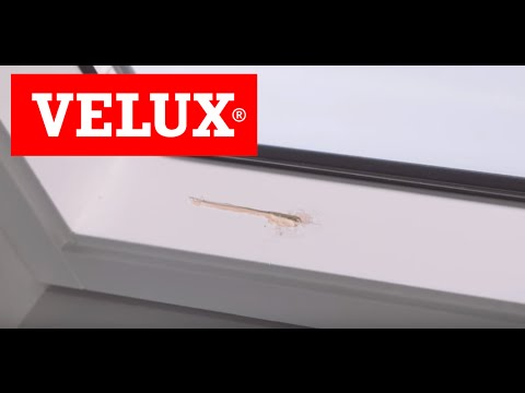 Clean & Repair Your VELUX White-Painted Windows