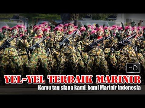 MERINDING ! Ribuan Marinir teriakkan Yel-Yel