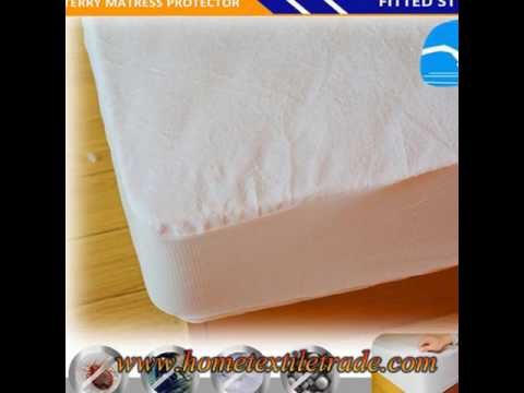 Baby Organic Waterproof Quilted Crib Mattress Pad Cover New