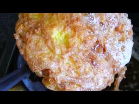 Egg Recipes : Crispy Omelette Recipe