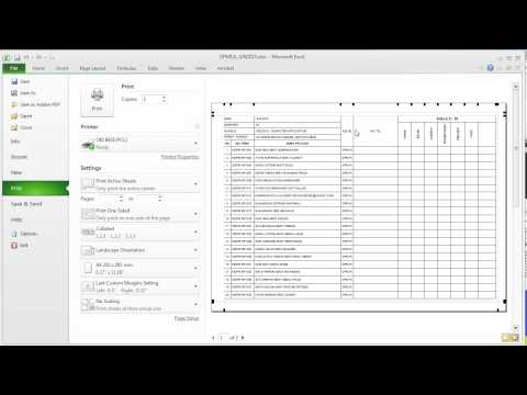 EXCEL Repeat specific rows or columns on every printed page