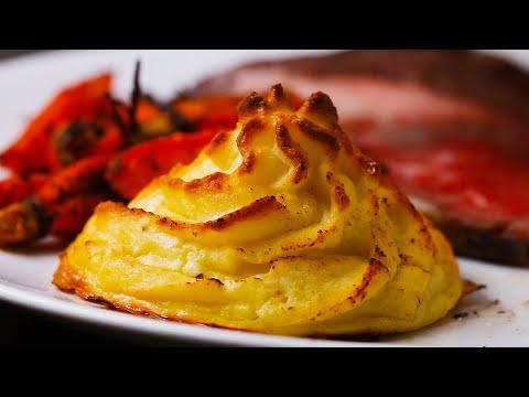 Gravy-Stuffed Mashed Potatoes (Duchesse)