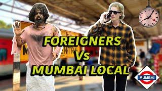 Foreigner's Life In Mumbai Local