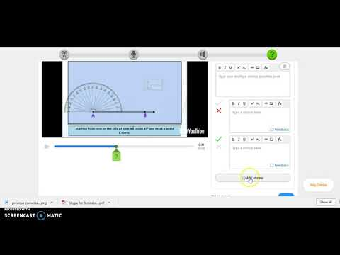 Adding Questions to Edpuzzle Lesson