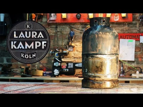 Laura´s Gas Bottle Stove