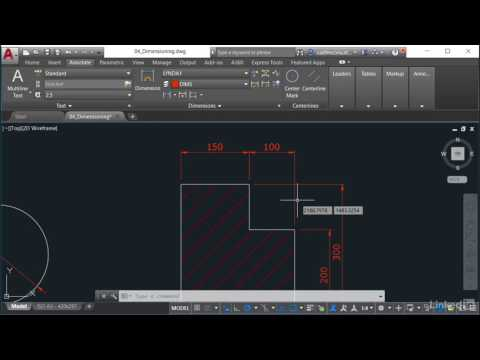 DIMSPACE and DIMBREAK | AutoCAD: Effective Annotating from LinkedIn Learning