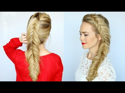 How to Dutch Fishtail Braid for Beginners |  Missy Sue