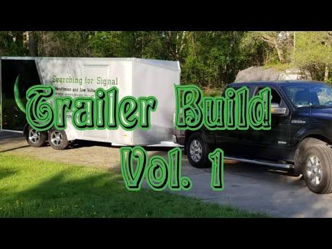 Handyman trailer build update!