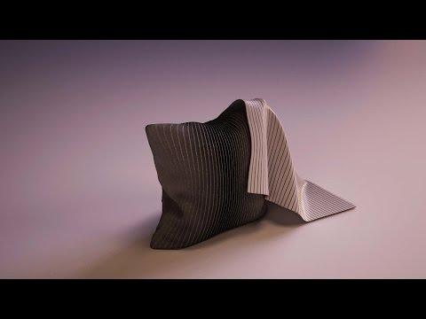 Tutorial - 3ds max  pillow & cover