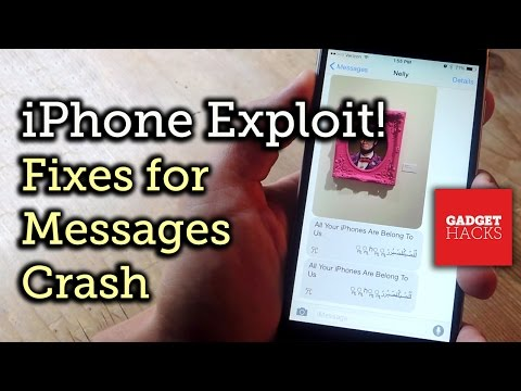 Fix the Text Message Bug/Exploit That Crashes Your iPhone & Messages App [How-To]