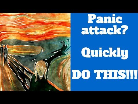 How to stop a panic attack | Do THIS in the middle of an anxiety attack | 3 steps to handle panic