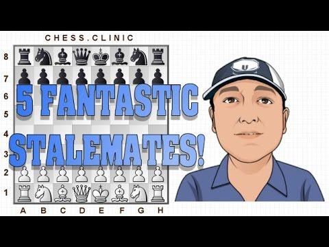 5 Fantastic stalemate ideas!