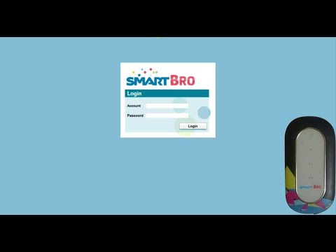 How to change SSID name and WiFi password Smartbro pocket wifi