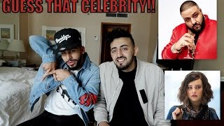 GUESS THAT CELEBRITY CHALLENGE!!!(IMMITATING CELEBRITIES)