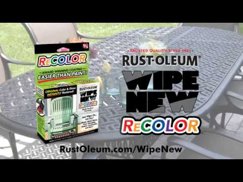 Restore Original Color & Shine Instantly with Wipe New® ReColor!
