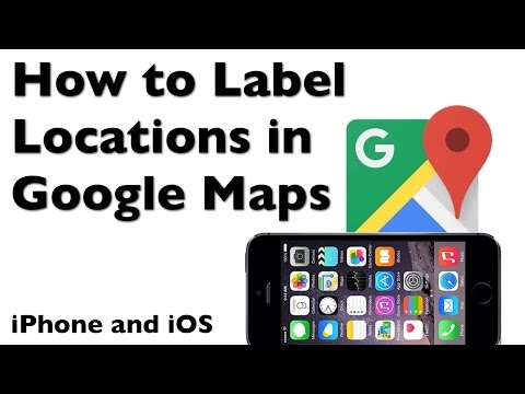 How to Label Home and Work in Google Maps