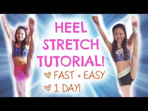 How To Learn A HEEL STRETCH - In ONE DAY!