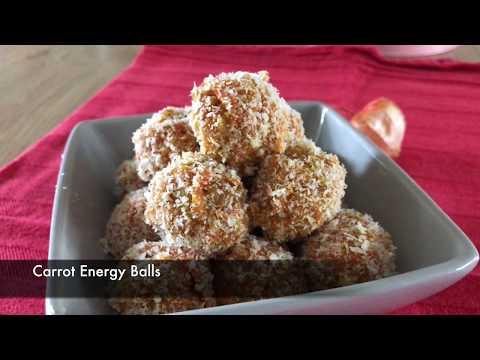 Carrot Balls No Bake - Episode 345 - Baking with Eda