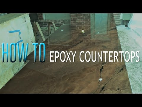Tutorial - How to make Outdoor Epoxy Countertops