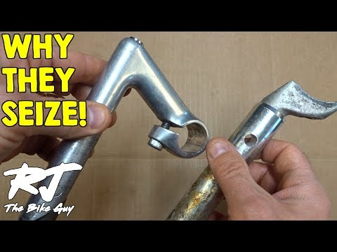 Why Aluminum Stems/Seatposts Get Seized In Steel Bike Frames
