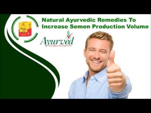 Natural Ayurvedic Remedies To Increase Semen Production Volume