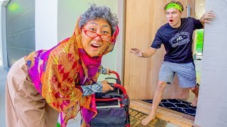 Download I TURNED INTO A GRANDMA FOR THE DAY!! Video