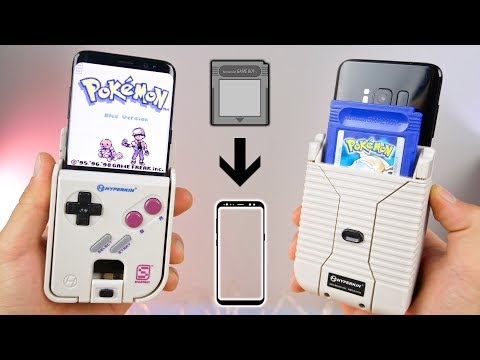 Play Real GameBoy Cartridges On Your Phone!