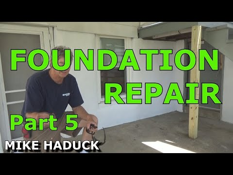 How I patch or fix up a foundation (part 5 of 6) Mike Haduck