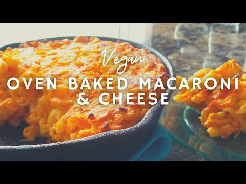 The Best Baked Mac N Chz | How To Make Macaroni & Cheese | Vegan | Korenn Rachelle