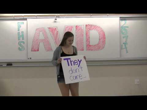 FHS (Sunnyvale) AVID 2014: Our Truths