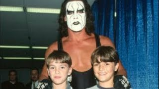 Guess The Two WWE Superstars Pictured With Sting